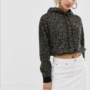 Levi's | Floral Cinched Hoodie